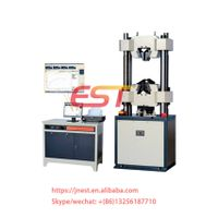 WEW 600kn computer screen display hydraulic universal testing machine