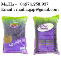 Organic Black Rice Purple Herbal Rice of Vietnam High Quality