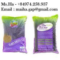 Organic Black Rice Purple Herbal Rice of Vietnam High Quality