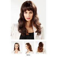 EYESHA fusion fashion wig 802 (Dark brown mix - natural wave style)