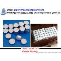 Round Shape Paraffin wax Scented Tea Light Candle 10-16g 100pcs Bag thumbnail image