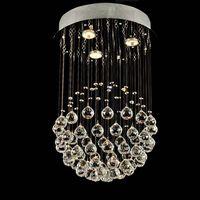 modern Chinese top k9 crystal lamp crystal ceiling light/lamp 6002-3 thumbnail image