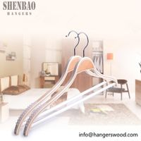 Flat and Thick Body Laminated Women's Hanger