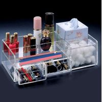 Desktop Transparent Acrylic Makeup Organizer Display