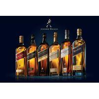 Johnnie Walker black label 700ml, 1l bottle