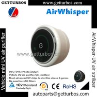UVC UVA TIO2 air sterilizer air purifier for vehicle China 2021 new AirWhisper