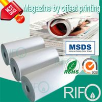 Rph-100 Printable PP Synthetic Paper for Offset Printing Magazine