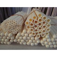 99%, 99.5% alumina thermocouple protection tube, sheath, alumina furnace tube