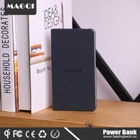 8000mah magnetic qi wireless charging power bank