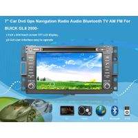"7"" Car Dvd Gps Navigation Radio Audio Bluetooth TV AM FM Vehicle Navigation For BUICK GL8 2000-"