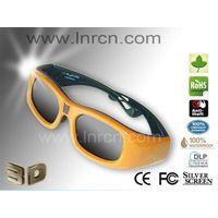 Big lcd 3d shutter glasses