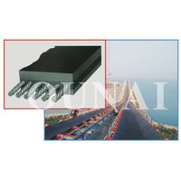 Steel core conveyor belt