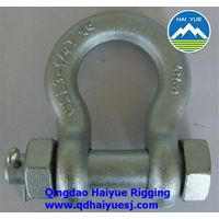 Galvanized forged shackle