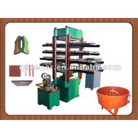 rubber floor vulcanizing machine