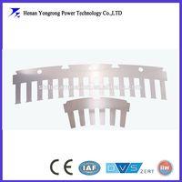 Motor stator silicon steel stamping parts segmented stator laminations