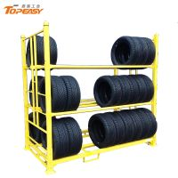 Metal Warehouse Storage Tire Storage Rack