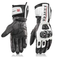 Full Leather gauntlet motorbike glove(047) thumbnail image
