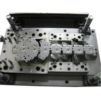 Big Progressive Die, Used to Stamp Metal Parts for Signal Receiver Machine thumbnail image