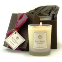 glass soy candle glass white Paraffin wax gifts package thumbnail image