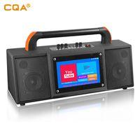 "CQA 2020new design touch screen 10""inch Smart Display speaker wifi smart speaker"