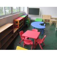 CE Approved Children Plastic Table Various Color