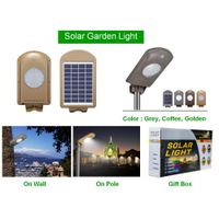5W all in one solar garden light