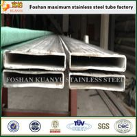 stainless steel flat rectangular tubing