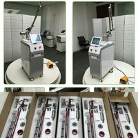 vertical 532nm 1064nm 1320nm carbon peeling black doll laser therapy q switch nd yag laser machine