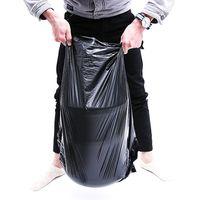 Big-size Black Trash Bag heavy duty industrial use