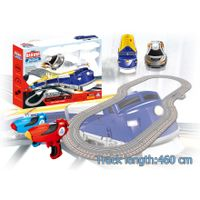 Soba 460CM 1:43 radio control electric toy train sets and car racing