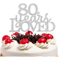 Cake decoration custom acrylic cake topper number birthday for birthday party thumbnail image