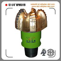 "12 1/4"" pdc drilling equipment for oil and gas drilling"