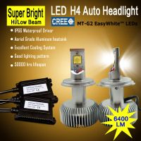 6500k 6400LM car lamp h4 led lights front lighting