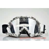 Best design transparent PC lens tear off mx goggles