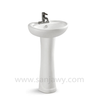 chinese pedesta wash basin/Porcelain pedestal basin/wash basin bowl