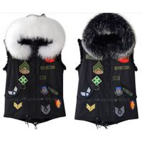 Winter Women Cool Real Fur Parka Luxury, Like Mr&Mrs Fur Parka
