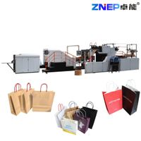 ZD-F550Q Fully Automatic Paper Shopping Bag Making Machine with Twisted Rope Handles Inline thumbnail image