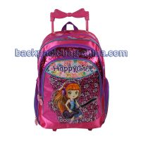 Excited School Trolley Backpack thumbnail image