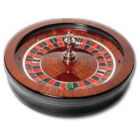 32''solid wood roulette wheel
