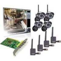 Lorex QLR464WB 4-Channel PCI DVR Card with 4 Digital Wireless Indoor/Outdoor thumbnail image