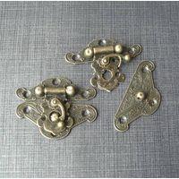 antique box lock