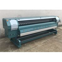 3.2m New Model Solvent Printer Outdoor Printing Machine with Konica512/Konica 512i Heads