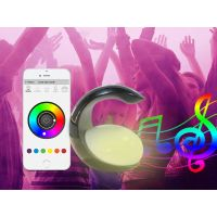 2018 Newest Bluetooth Speaker Led Bulb Speaker Colors Changing by App Controlled for all Smart Phone thumbnail image