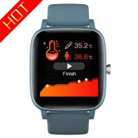 T98 Smart Watch Body Temperature Blood Pressure Monitor Smartwatch IP67 thumbnail image