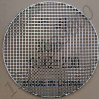 Easygo Perforated Metal Plate Square Hole Opening Round stainless steel wire welded rimed BBQ Grill
