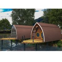 Prefabricated House moveable boat house