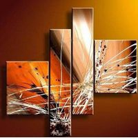 Abstract oil painting custom