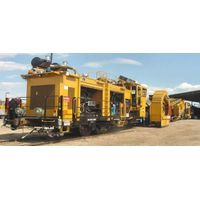 Ballast Cleaning Machine for railway vehicle