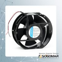 DC brushless fan 172x150x52mm 12V ball bearing PWM thumbnail image