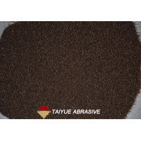 Brown fused alumina for ceramic abrasives